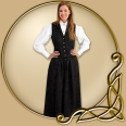 Costume - Western Black Skirt